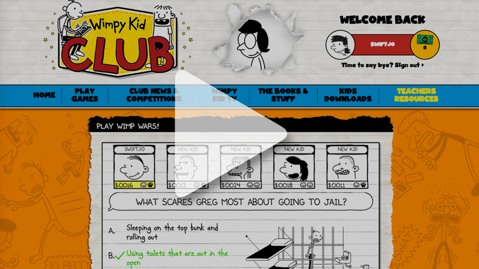 Wimpy kid club complete control wimpy kid club website previousnext solutioingenieria Choice Image