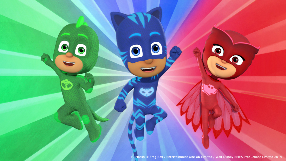 augmented reality game for pj masks complete control