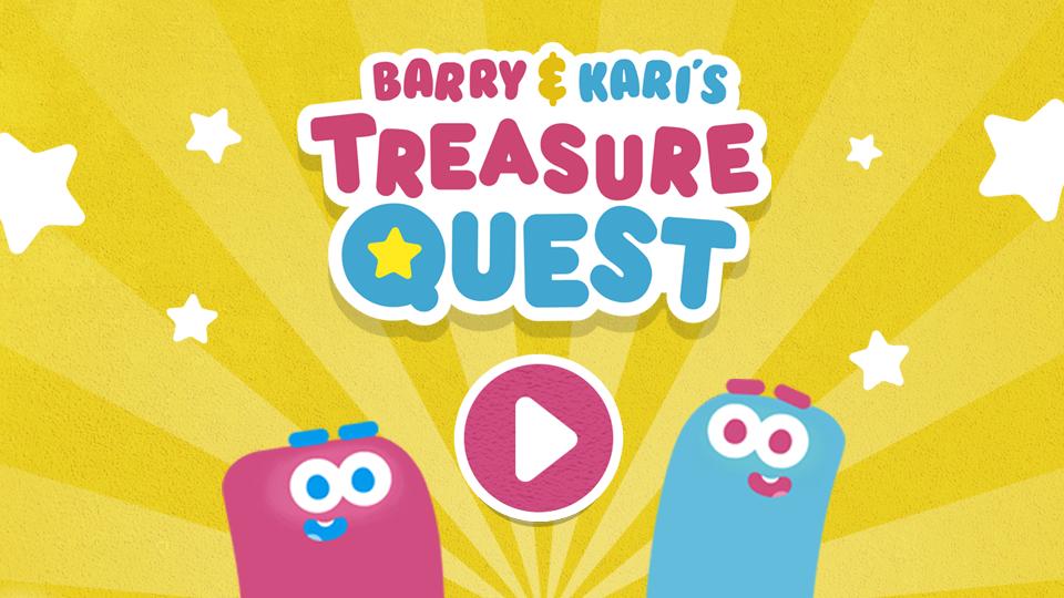 Treasure Quest Title Screen