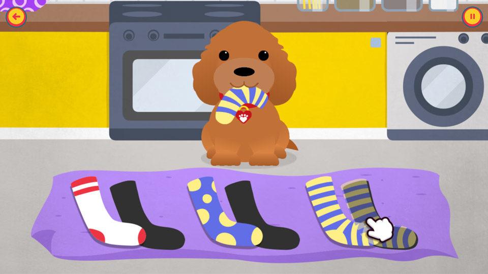 Waffle hiding socks