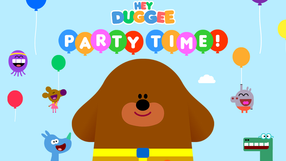 Hey Duggee Party Time Complete Control