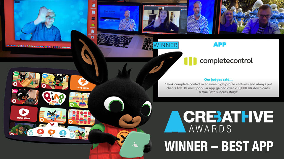 App Winner Creative Bath Awards 2020
