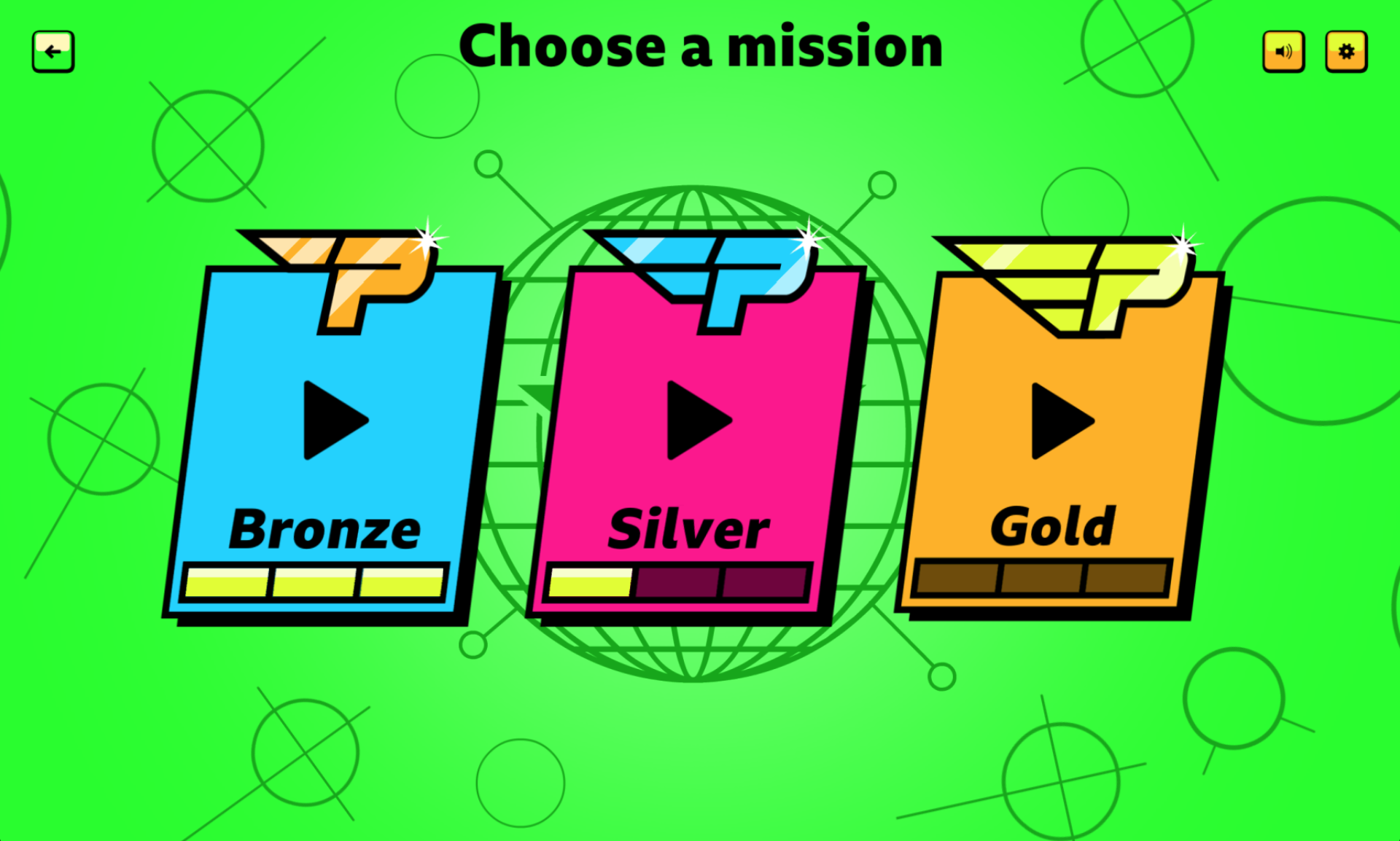 Choose a Mission