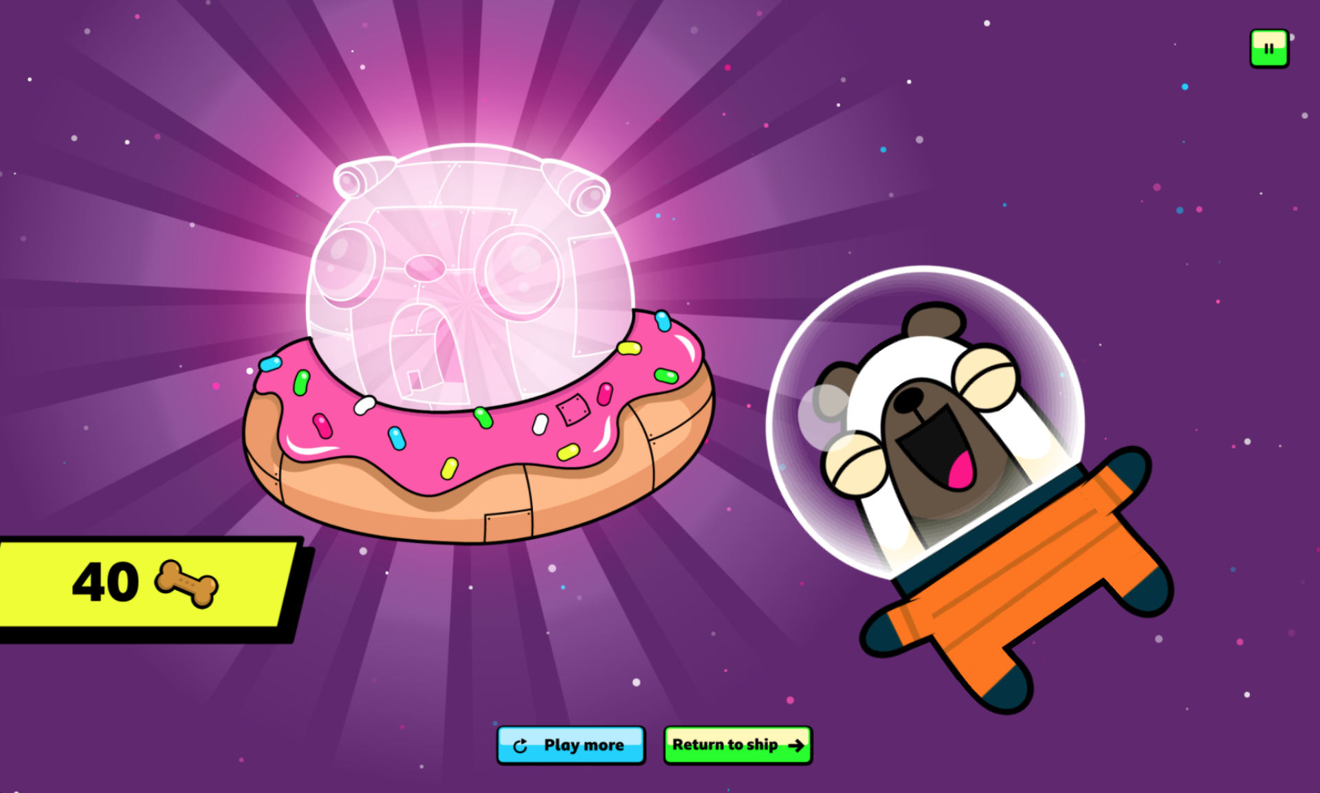 Donut ring reward