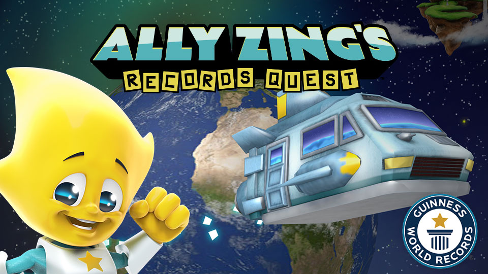 Ally Zing's Records Quest